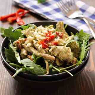 Creamy Basil Chicken Salad | Frugal Nutrition