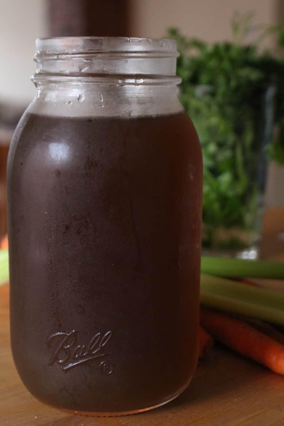 Vegetable Broth | Frugal Nutrition