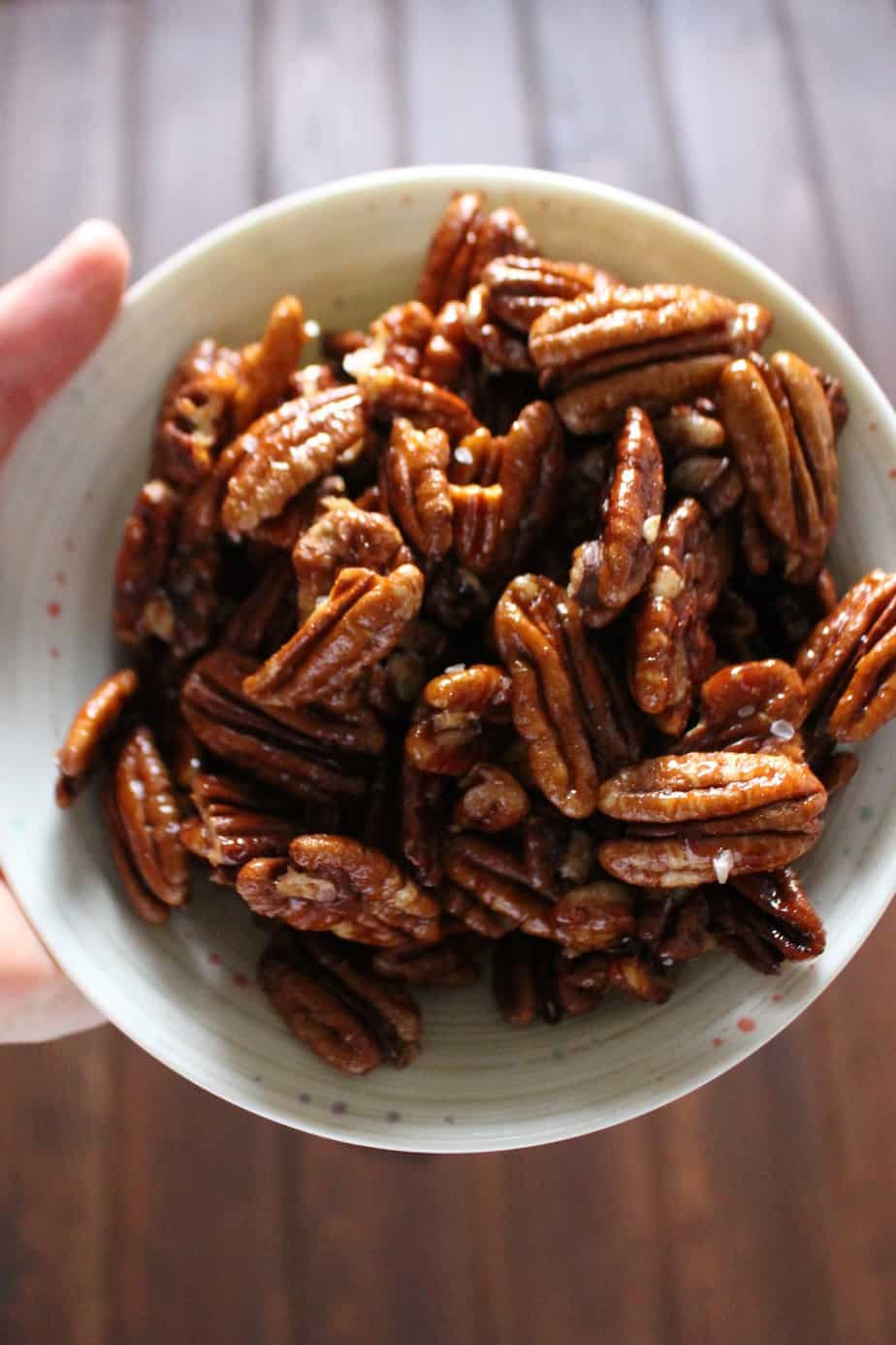 Spiced Pecans | Frugal Nutrition