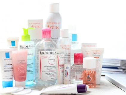 vanja, fashion and style blog, beauty routine, facial products, bioderma, avene