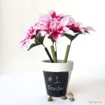 Teacher Appreciation Gift – Flower Pot Pen Holder