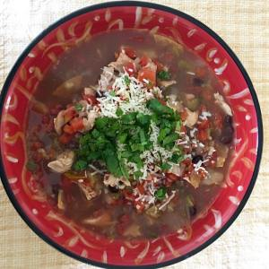 crockpot chickentortillasoup recipe is ontheblog Perfect for cincodemayo or anyhellip