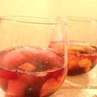 Pineapple Blueberry Infused Water