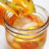 Pineapple Orange Fruit Infused Water