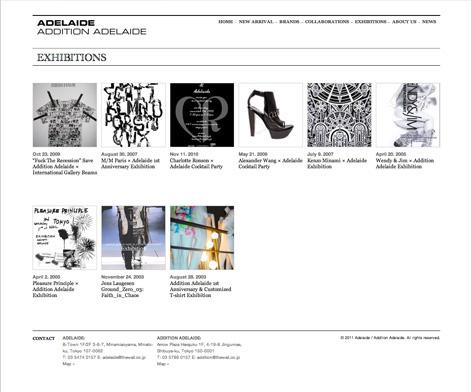 Adelaide / Addition Adelaide website 9