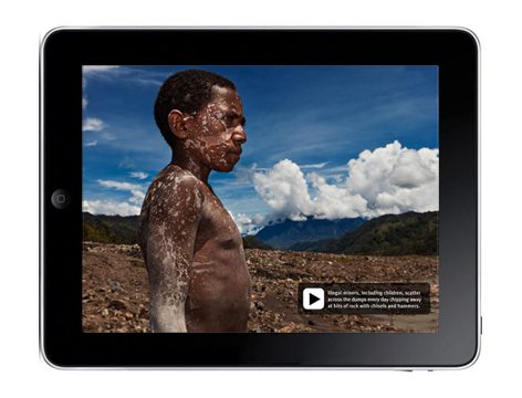 hrw multimedia for iPad app 2