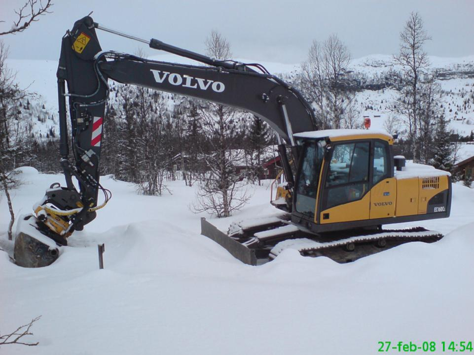 Volvo EC160CL
