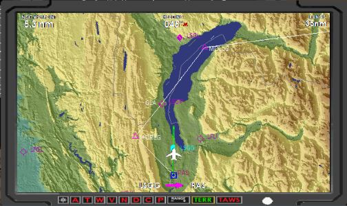 GPS Map Terrain