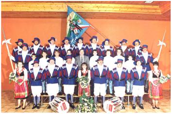 1989 - Inauguration des nouveaux costumes