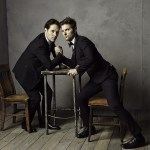 8 Paul Rudd and Adam Scott