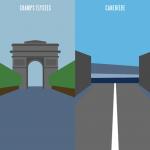 Paris vs Marseille Illustrations 7
