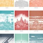 CELESTIAL CITIES by David Fleck-1