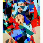 Graphic and Colorful Portraits by Erik Jones -10