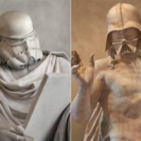 Star Wars Characters Greek Statues