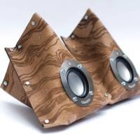 Easy DIY Leather Giacinto Speakers