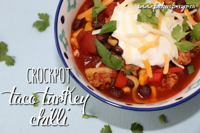 Crockpot Taco Turkey Chilli & Happy 5th Birthday Audrey!