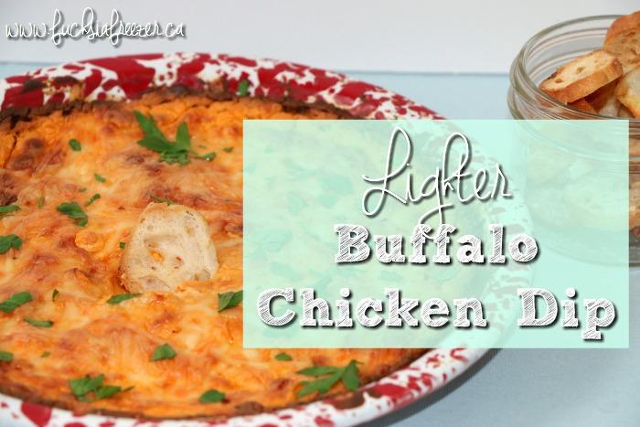 Lighter Buffalo Chicken Dip