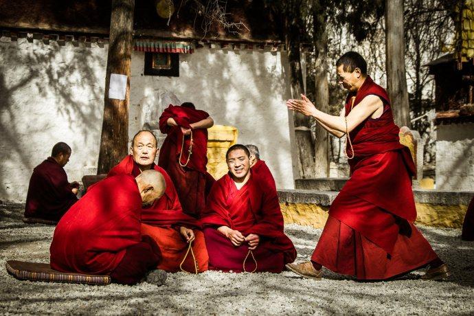 "Sera Monastery, Lhasa Fuji X-E2 . Fuji XF18-55mm . 55mm . f/4 . 1/1000"" . ISO 200"