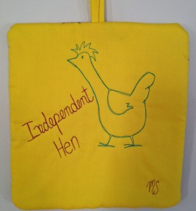 Independent Hen (yellow)
