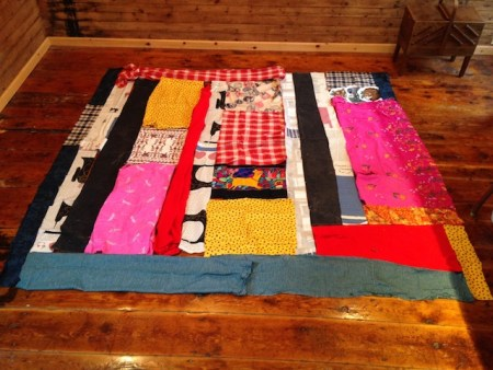 sewing machine quilt