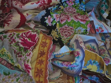 Vintage Hankies from Stacie