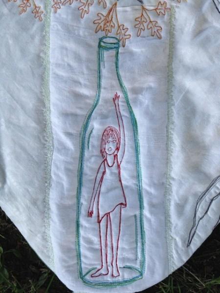 """""""Born in a Bottle"""" Detail"""