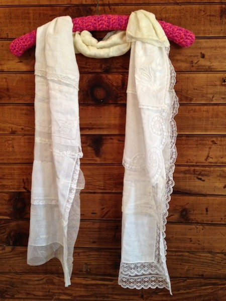 Lacy White Scarf #2