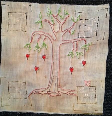 Falling Heart Tree