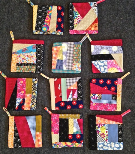 Peace and Flower Potholders