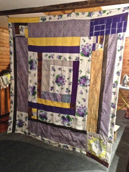 Neno's Tablecloth Quilt