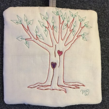 Heart Leaf Tree II