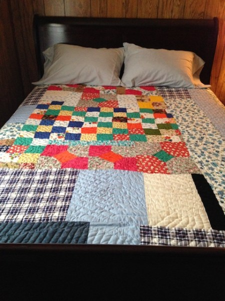 Gee's Bend quilt made by Queenie Pettway