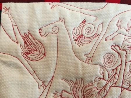 """Detail from """"Tireless Fruit"""""""