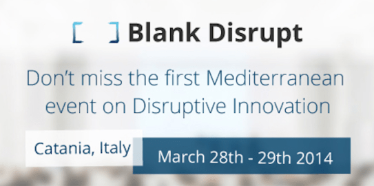 blank disrupt 2014