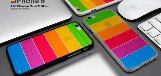 レインボーカラーのアイフォン6 (iPhone6) ケース 「Lim's Rainbow Classic Edition for iPhone 6」が発売