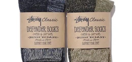 ステューシークラシック (STUSSY CLASSIC)から、メイドインジャパンの靴下が発売!