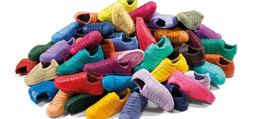 全50色のスーパースター (Superstar)!アディダス オリジナルス (adidas Originals) × ファレル・ウィリアムス (Pharrell Williams)のコラボ、スーパーカラー (Supercolor)が登場!