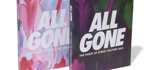2014年のストリートカルチャーを詰め込んだ『ALL GONE』が発売!ステューシー (STUSSY)&アンディフィーテッド (UNDEFEATED)のコラボアイテムも!