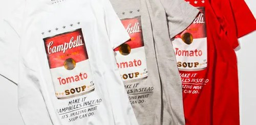 BEAUTY&YOUTH別注!キャンベルスープのTシャツが発売!