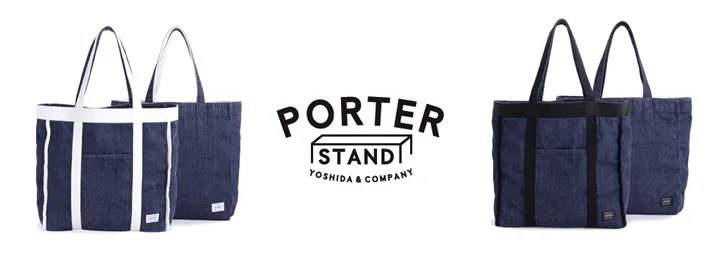 PORTER × orgabits「DENIM TOTE BAG ウォッシュ バージョン」が発売中! (ポーター オーガビッツ)