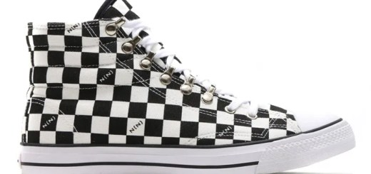 ナンバーナイン Canvas Sneake Hi Checker Flagが発売! (NUMBER (N)INE)