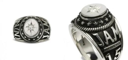 WEB限定!ジャムホームメイド × ナンバーナインのコラボ、カレッジリングが発売! (JAM HOME MADE NUMBER (N)INE College Ring)
