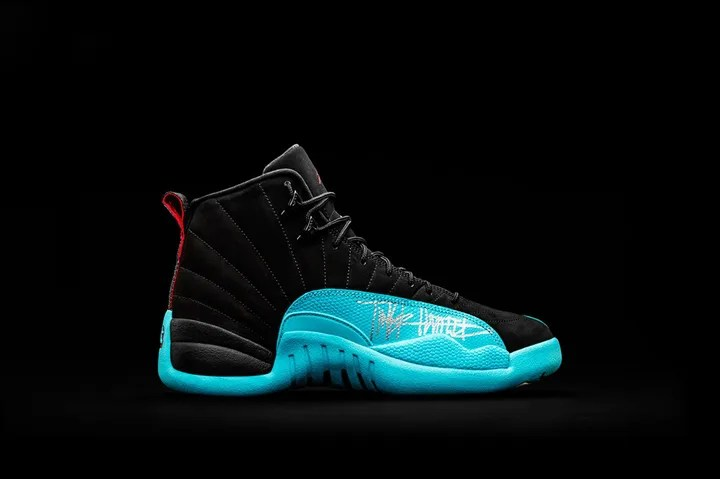 """DB Dozen"" Nike Air Jordan XII Shoe Size 6Y – OHSU Doernbecher"