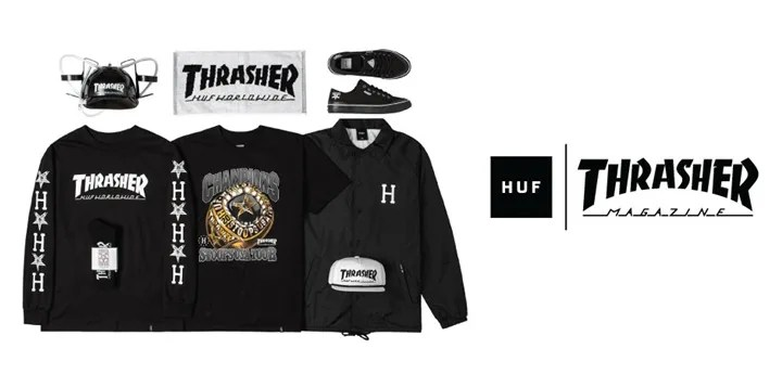 HUF × THRASHER STOOPS USA TOUR 2015がリリース! (ハフ スラッシャー)
