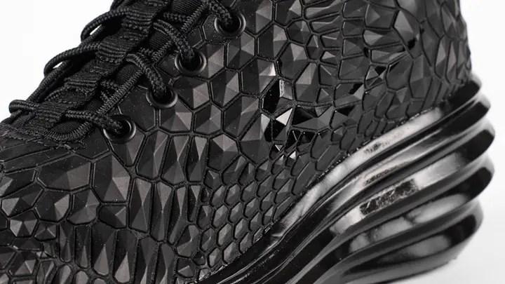 """11/23発売予定!ナイキラボ ウィメンズ ルナ エリート スカイ ハイ ダイアモンドバック """"トリプルブラック"""" (NIKELAB WMNS LUNAR ELITE SKY HIGH Diamondback """"Triple Black"""") [807459-001]"""