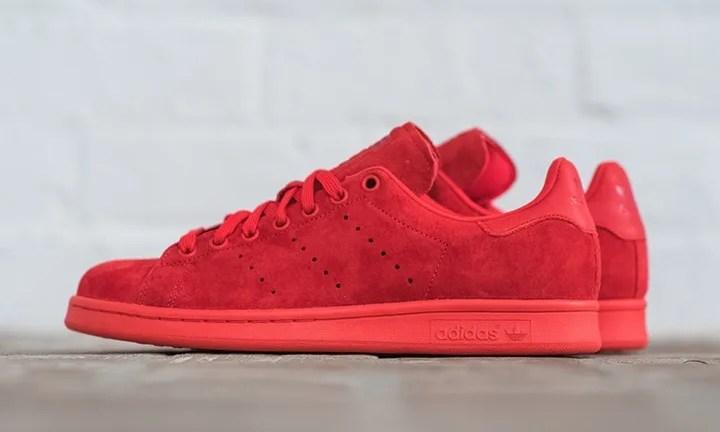 """トリプルレッド!adidas Originals STAN SMITH """"Powdered Red""""が海外展開! (アディダス オリジナルス スタンスミス """"パウダーレッド"""")"""