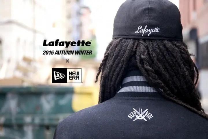 Lafayette × NEW ERA コラボスタジャン 「ARCH LOGO STADIUM JACKET」が12/5から発売! (ラファイエット ニューエラ)