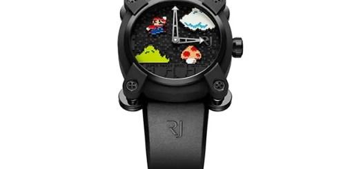 なんと250万円、世界85本限定!!ロマン・ジェロームとスーパーマリオがタッグを組んだ腕時計が2016年1月にリリース!