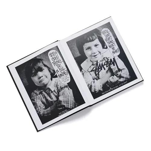 ステューシーの80年代~90年代半ばのヴィンテージコレクションアーカイブより選抜した稀少なプロダクトを300点以上収録した「VINTAGE RETROSPECTIVE」が発売!