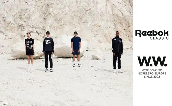 REEBOK × WOOD WOOD コラボレーションが発売中! (リーボック ウッドウッド)